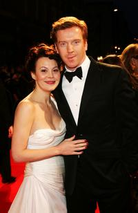 Helen McCrory and Damien Lewis at the Orange British Academy Film Awards (BAFTAs).