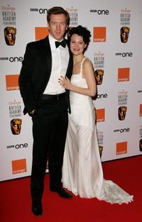 Damien Lewis and Helen McCrory at the Orange British Academy Film Awards.