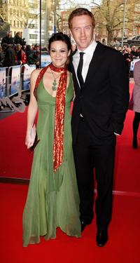 Helen McCrory and Damien Lewis at the UK premiere of