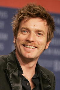 "Ewan McGregor at the press conference for ""Stay"" in Berlin, Germany."