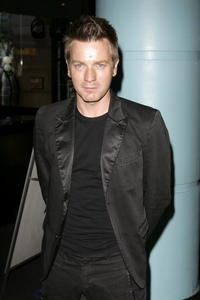 Ewan McGregor at the UK Premiere of ''Stormbreaker'' in London.