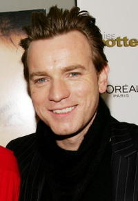 "Ewan McGregor at the ""Miss Potter"" film premiere in New York City."