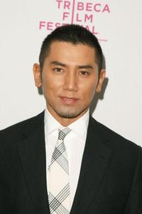 Masahiro Motoki at the premiere of