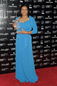 Denise Newman at the AsiaAfrica Closing Night Award Ceremony during the 2009 Dubai International Film Festival.