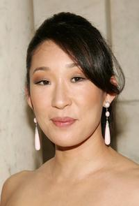 Sandra Oh at the 2006 CFDA Fashion Awards.
