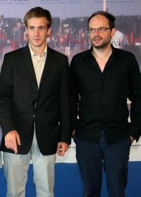 Gregoire Leprince-Ringuet and Denis Podalydes at the photocall of