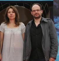 Valerie Benguigui and Denis Podalydes at the premiere of