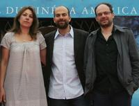 Valerie Benguigui, Marc Fitoussi and Denis Podalydes at the premiere of