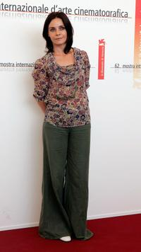 Galatea Ranzi at the photocall of