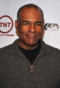 Michael Dorn at the Wrap Party For TNT's