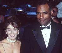 Marinas Sirtis and Michael Dorn at the British Academy of Film and Television Awards.