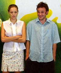 Bijou Phillips and Brad Renfro at the photocall of