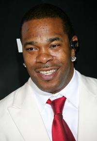 Busta Rhymes at the 2007 BET Awards after party.