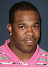 Busta Rhymes at the BET Awards 2006 nominees announcement.
