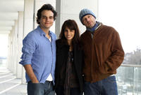 Wagner Moura, Maria Ribeiro and director Jose Padilha at the portrait session of