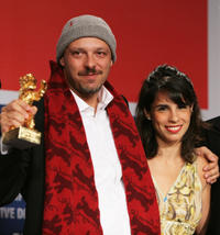 Director Jose Padilha and Maria Ribeiro at the
