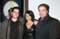 Director Raymond De Felitta, Kathrine Narducci and Michael Rispoli at the premiere of