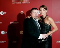 Armin Rohde and Gerit Kling at the German Film Awards 2009 gala.