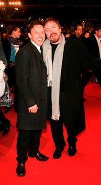 Axel Pape and Armin Rohde at the closing ceremony during the 55th Annual Berlinale International Film Festival.