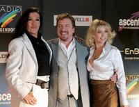 Katy Karrenbauer, Armin Rohde and Tina Ruland at the Radio Regenbogen Award 2006.