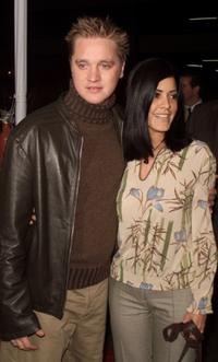 Devon Sawa and Jessica at the premiere of