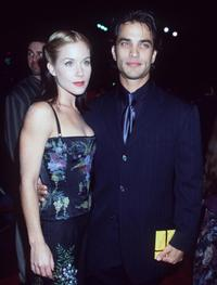 Christina Applegate and fiance Johnathon Schaech at the premiere of