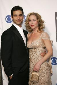 Johnathon Schaech and Christina Applegate at the 59th Annual Tony Awards.