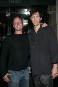 Paul Schulze and Adam Trese at the screening of