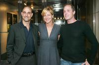 Stanley Tucci, Edie Falco and Paul Schulze at the screening of
