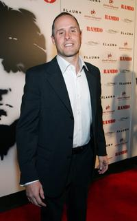 Paul Schulze at the world premiere of