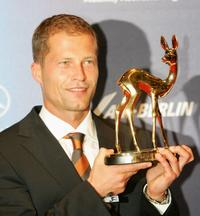Til Schweiger at the 57th annual Bambi Awards.