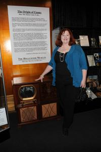 Lorna Scott at the Envelope's Emmy Exhibition.