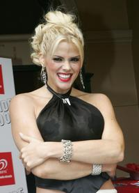 Anna Nicole Smith at the NW Oscars Lunch.