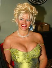 Anna Nicole Smith at the roast in honor of Larry Flynt.