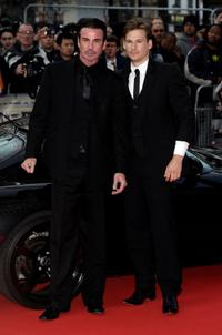 Gary Stretch and Lee Ryan at the UK premiere of