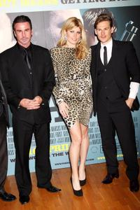 Gary Stretch, Meredith Ostrom and Lee Ryan at the world premiere of