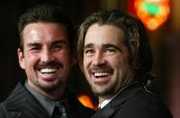 Gary Stretch and Colin Farrell at the premiere of