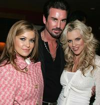 Carmen Electra, Gary Stretch and Jenny McCarthy at the screening pre-party of