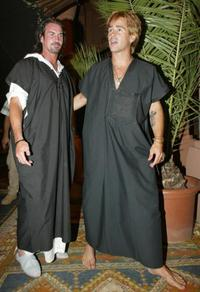 Gary Stretch and Colin Farrell at the 3rd annual Marrakech film festival.