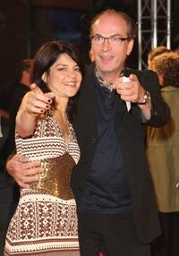 Jasmin Tabatabai and Herbert Knaup at the First Steps Award.