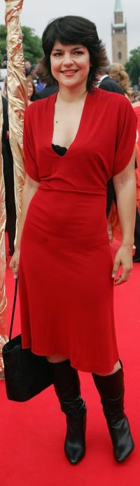 Jasmin Tabatabai at the Deutscher Filmpreis, the German Film Awards.