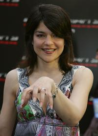 Jasmin Tabatabai at the premiere of