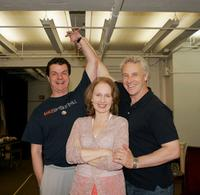 Michael Cumpsty, Kate Burton and John Dossett at the