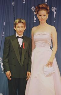 Jonathan Taylor Thomas and Molly Ringwold at the 1996 EMMY Awards.