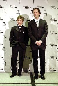 Jonathan Taylor Thomas and Steven Webber at the 11th Annual GLAAD Media Awards.