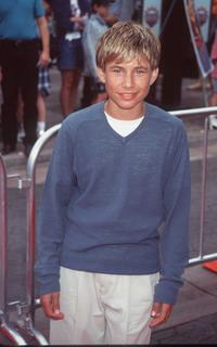 Jonathan Taylor Thomas at the premiere of