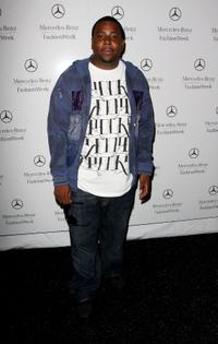 Kenan Thompson at the Mercedes-Benz Fashion Week.