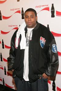 Kenan Thompson at the Coca Cola Make It Real party.