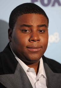 Kenan Thompson at the 2008 FOX Upfront after party.