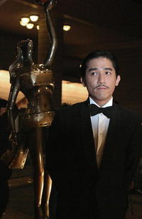 Tony Leung at the Hong Kong film awards in Hong Kong.